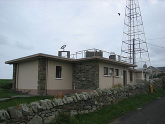 Malin Head - The Met Éireann station at Malin Head