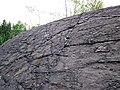 Metagraywackes (Chelmsford Formation, Paleoproterozoic, 1.74 Ga; Larchwood North outcrop, Sudbury Impact Structure, Ontario, Canada) 2 (40794717073).jpg