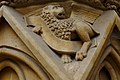 Metz Cathedral Winged Lion.jpg