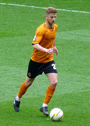 Michael Jacobs (footballer) - Jacobs playing for Wolverhampton Wanderers in 2014