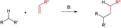 Michael reaction: general mechanism