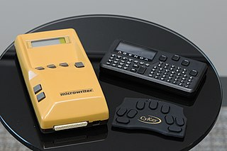 Microwriter - WikiMili, The Free Encyclopedia