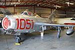 Mikoyan-Gurevich MiG-15 '1051' (NX87CN) (26787119756).jpg