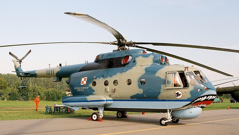 Mil Mi-14 of Polish Navy (reg. 1011), static display, Radom AirShow 2005, Poland