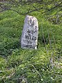 Milestone beside A10, VI Miles to Cambridge - geograph.org.uk - 384068.jpg