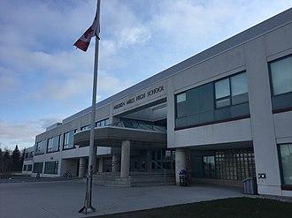 Milliken, Ontario - Milliken Mills High School is a public secondary school situated in Milliken Mills East.
