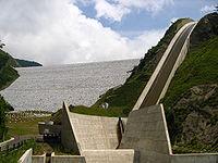 The Upper Minamiaiki Dam Of Kannagawa Hydro Plant