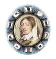 Miniatyrporträtt av konung Karl X Gustav av Sverige (1622-1660), 1600-talets andra hälft - Livrustkammaren - 91427.tif