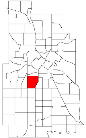 Whittier, Minneapolis - Image: Minneapolis Whittier Neighborhood