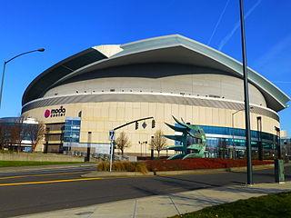 Moda Center architectural structure