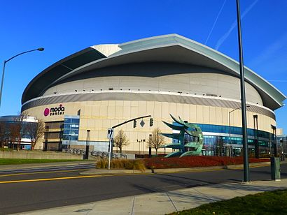 How to get to Moda Center with public transit - About the place