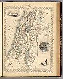 Modern Palestine, Illustrated atlas, and modern history of the World, 1851.jpg