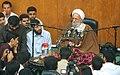 Mohammad-Taqi Mesbah-Yazdi in Shahid Chamran University of Ahvaz (1 8802121231 L600).jpg