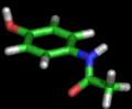 Molecule paracetamol 3D.png