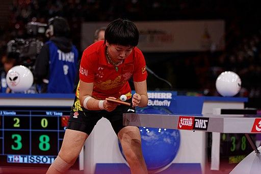 Mondial Ping -Women's Singles - Quarterfinal - Wu Yang-Li Xiaoxia - 22