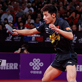 Zhang Jike Chinese table tennis player