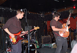 Monks of Doom - The band performing in 2005 Photo: Steve Rhodes