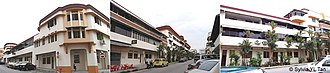 Tiong Bahru - SIT (Singapore Improvement Trust) flats in Tiong Bahru