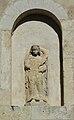 Montagrier chapelle St Sicaire sculpture.JPG