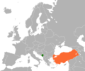 Montenegro Turkey Locator.png