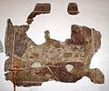 Montepescali, san niccolò, interno, resti di affreschi del 1380-90 circa 04 ultima cena.JPG