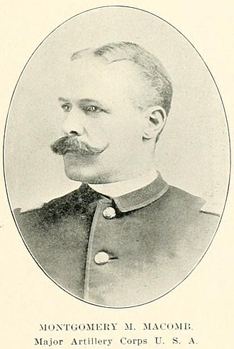 Montgomery M. Macomb - Macomb as a Major shortly after the Spanish–American War