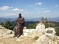 Monument Verdaguer Mare de Déu del Mont 3.JPG
