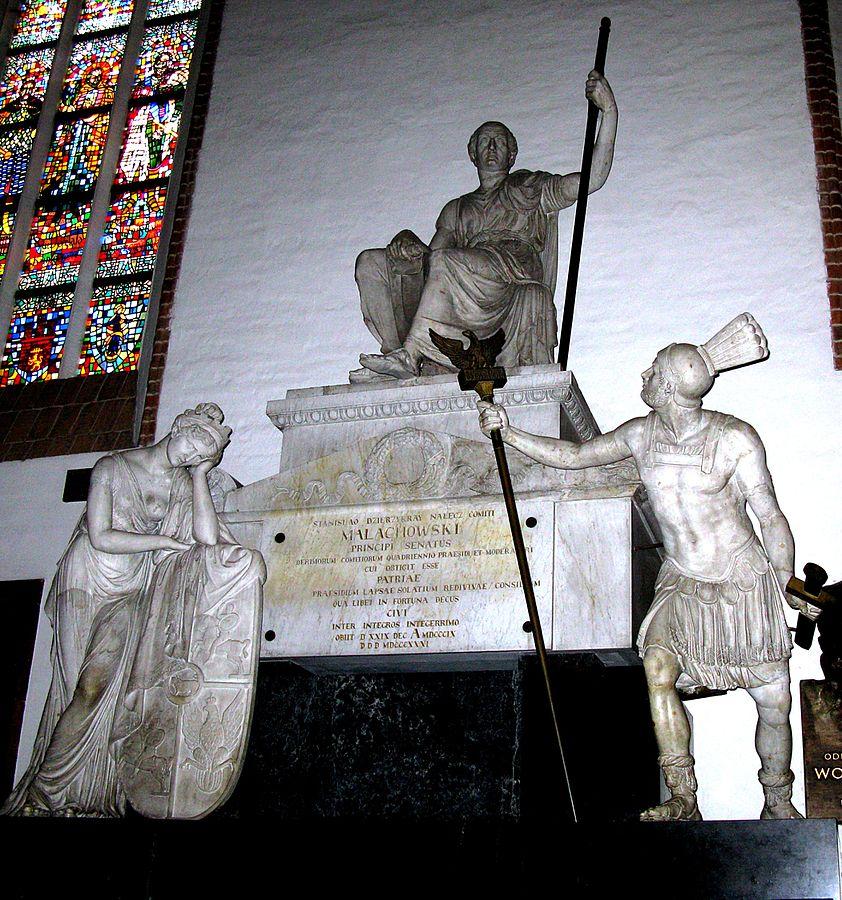 Pomnik Stanisława Małachowskiego w bazylice archikatedralnej św. Jana Chrzciciela w Warszawie