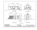 Moody Parsonage, Rockingham, Rockingham County, NH HABS NH,8-ROCK,1- (sheet 3 of 19).png