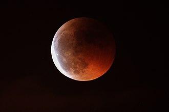 La Cañada Observatory - Image: Moon eclipse