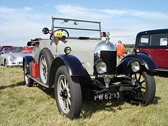 Morris Cowley - Two-seater first registered 30 June 1926