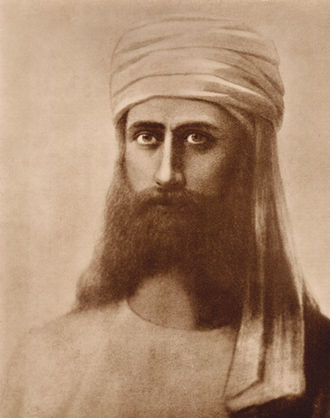 Morya (Theosophy) - A portrait of Master Morya by Hermann Schmiechen