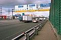 Moscow, MKAD approaching Leningradskoe Highway interchange (21255966091).jpg