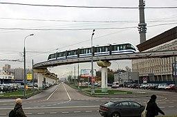 Monorraíl Moscú