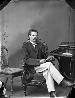 Moses Chamberlain Edey - Moses Edey in 1869