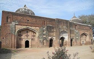 Bhagat Sadhana - Mosque of Devotee Sadhna, Sirhind