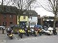 Motorcycle park, Dorchester - geograph.org.uk - 1734578.jpg