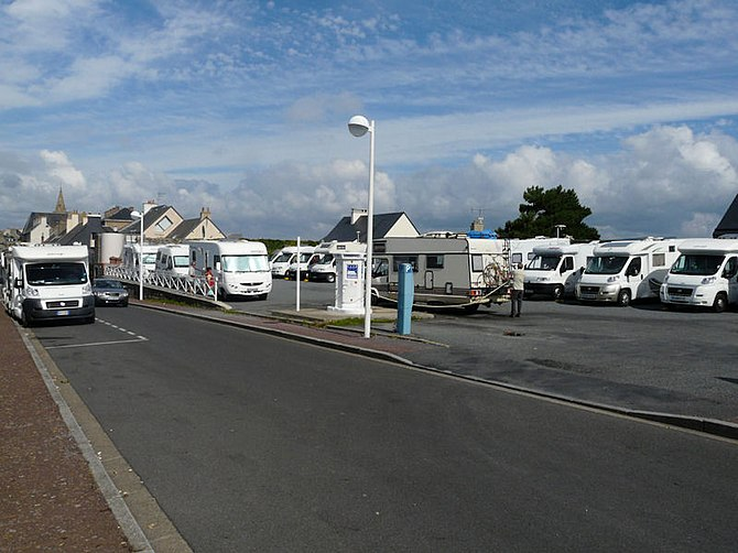 Motorhome overnight parking (Stopover/Stellpla...