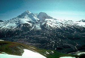Mount Redoubt - North face in 1980