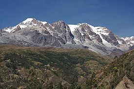 Mount Illampú in May 2007 (Cody H).jpg