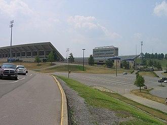 Mountaineer Field at Milan Puskar Stadium - Exterior, Summer 2007