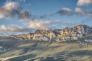 Laguardia, Álava - Mountains north of Laguardia