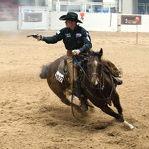 Cowboy mounted shooting - Mounted shooting
