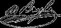 Moyse Bayle signature.png