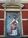 mozaiek villa rozenhof, dordrecht. de architectuur