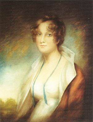 Alexander Campbell of Possil - Mrs Alexander Campbell of Possil (artist Sir Henry Raeburn) Née Harriet Maclachlan of Castle Lachlan, Argyll (see Clan Maclachlan).