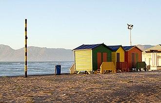 Beaches of Cape Town - Muizenberg beach