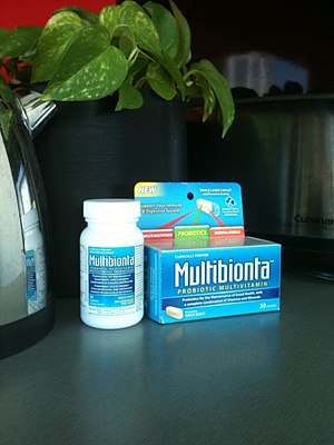 English: Multibionta Probiotic Multivitamin, 3...