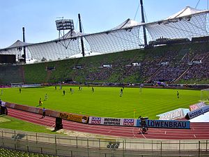 Olympiastadion (Munich) - TSV 1860 München football match