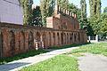 Mury obronne w Głogowie przy Kościele parafialnym św. Mikołaja.JPG